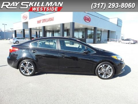 Certified Pre-Owned 2015 Kia Forte EX,MOONROOF