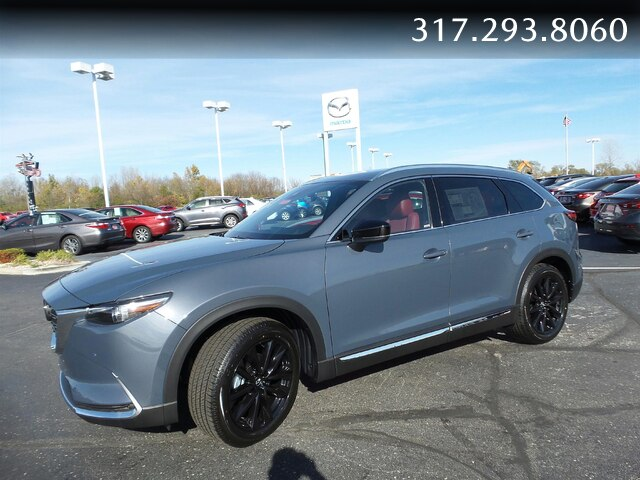New 2021 Mazda CX-9 4DR AWD CARBON ED