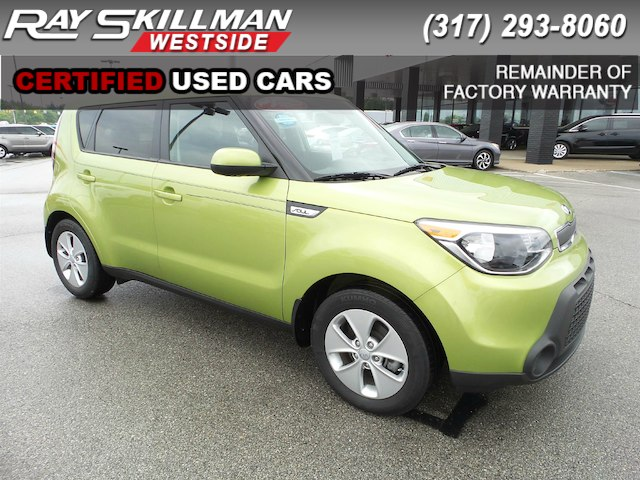 Certified Pre Owned 2016 Kia Soul BASE