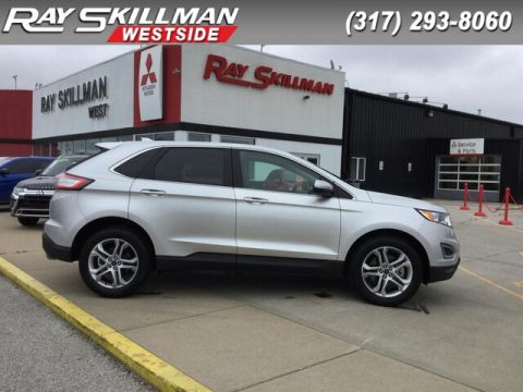 Pre-Owned 2017 Ford Escape TITANIUM SUV in Indianapolis
